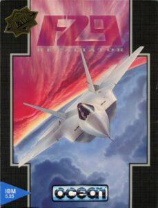 F-29 Retaliator Game Box Cover Art