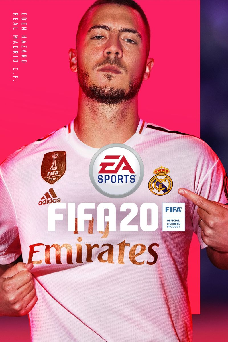 FIFA 20 Game Box Cover Art