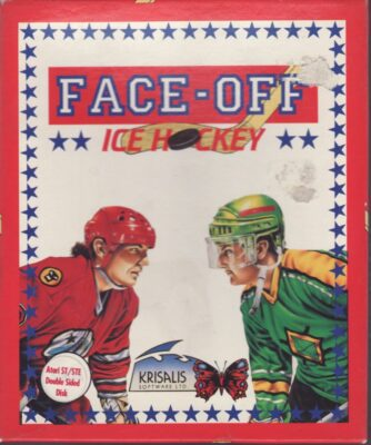 Face Off Game Box Cover Art