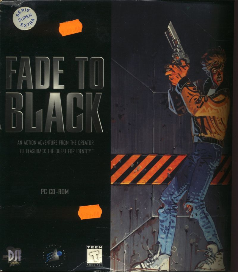 Fade to Black Game Box Cover Art