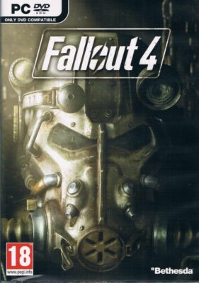 Fallout 4 Game Box Cover Art