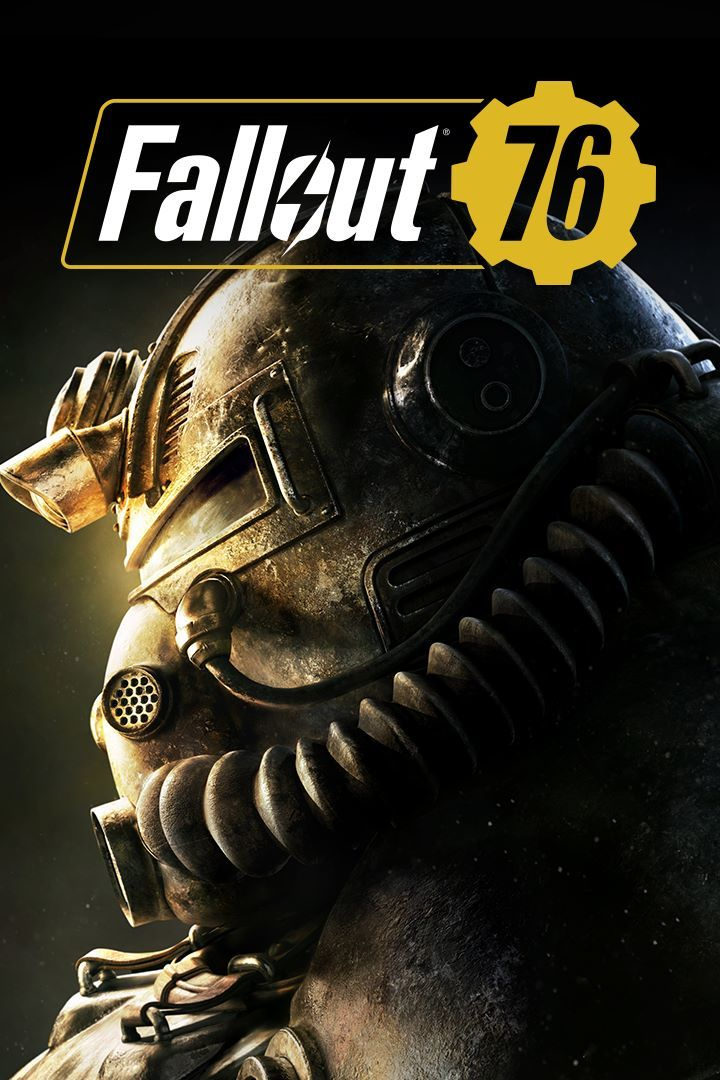 Fallout 76 Game Box Cover Art
