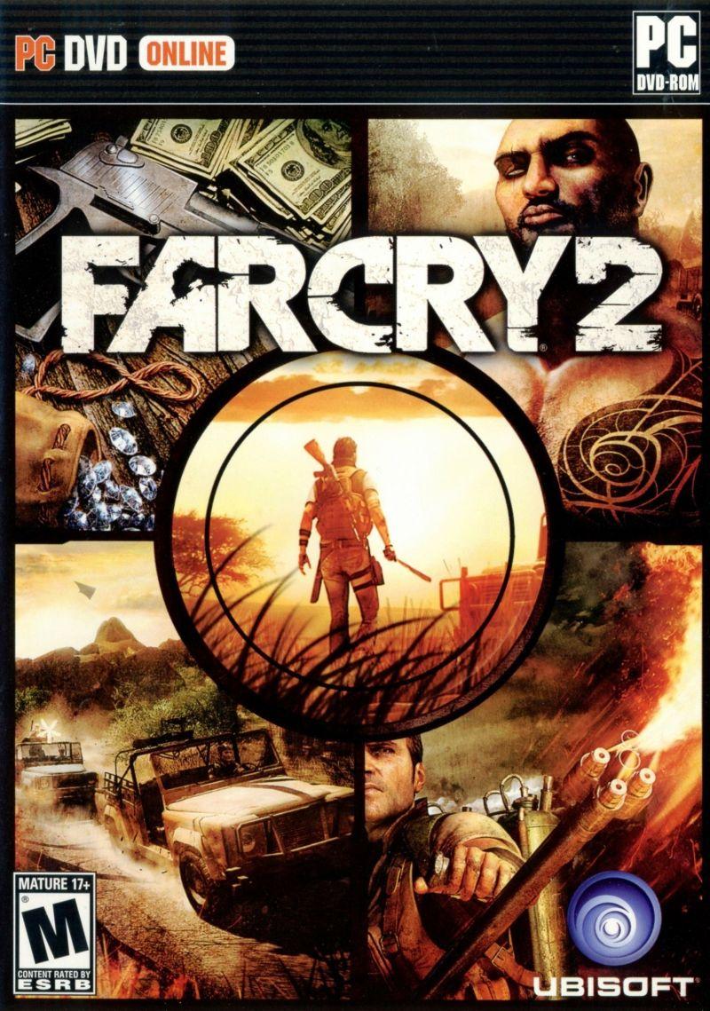 Far Cry 2 Game Box Cover Art