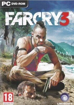 Far Cry 3 Game Box Cover Art