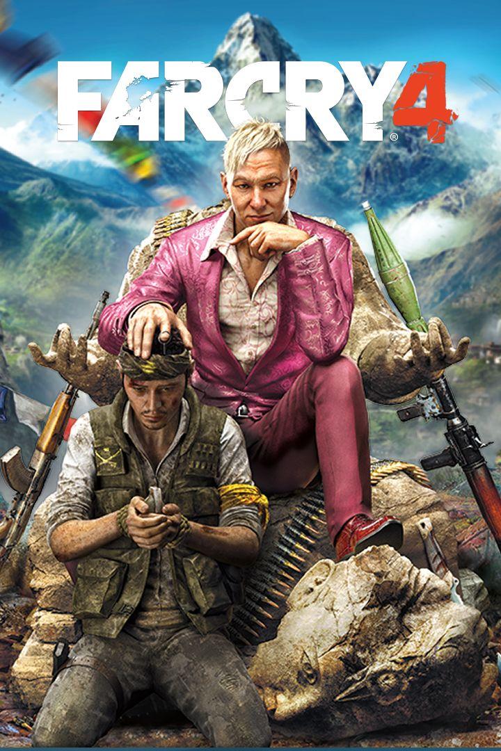Far Cry 4 Game Box Cover Art