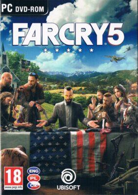 Far Cry 5 Game Box Cover Art