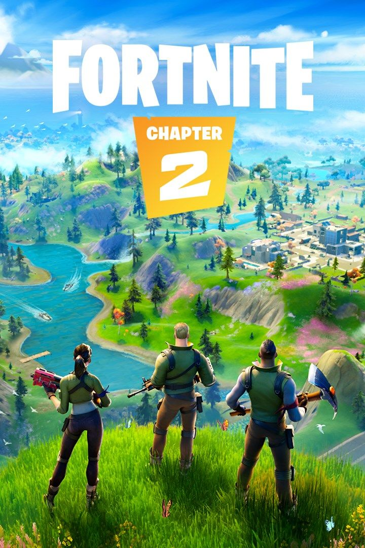 Fortnite Battle Royale PC Game Box Cover Art