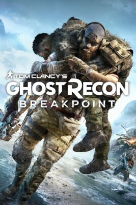 Ghost Recon Breakpoint PC Game Box Cover Art