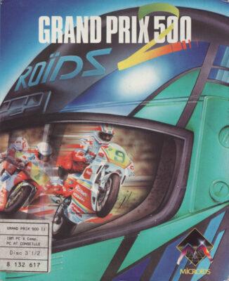 Grand Prix 500 2 DOS Game Box Cover Art