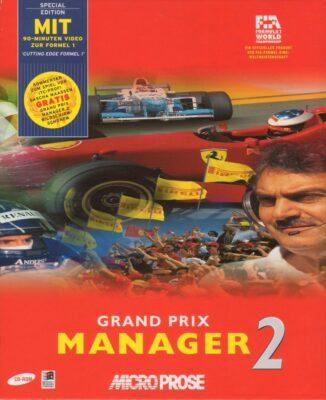 Grand Prix Manager 2 DOS Game Box Cover Art