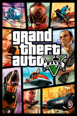 Grand Theft Auto V PC Game Box Cover Art