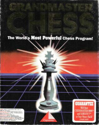 Grandmaster Chess DOS Game Box Cover Art