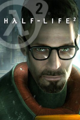 Half-Life 2 PC Game Box Cover Art