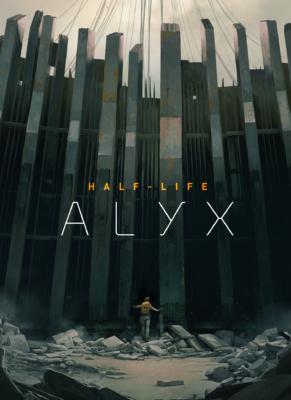 Half-Life Alyx PC Game Box Cover Art
