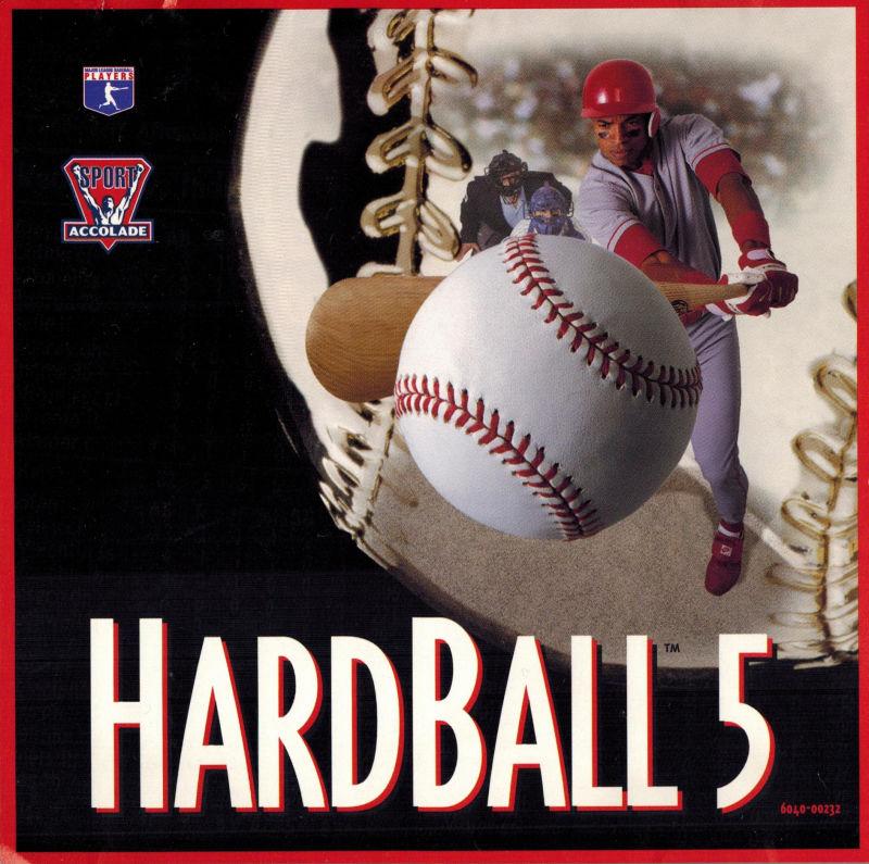 HardBall 5 DOS Game Box Cover Art
