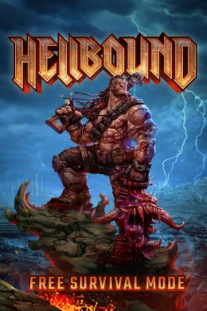 Hellbound Survival Mode PC Game Box Cover Art