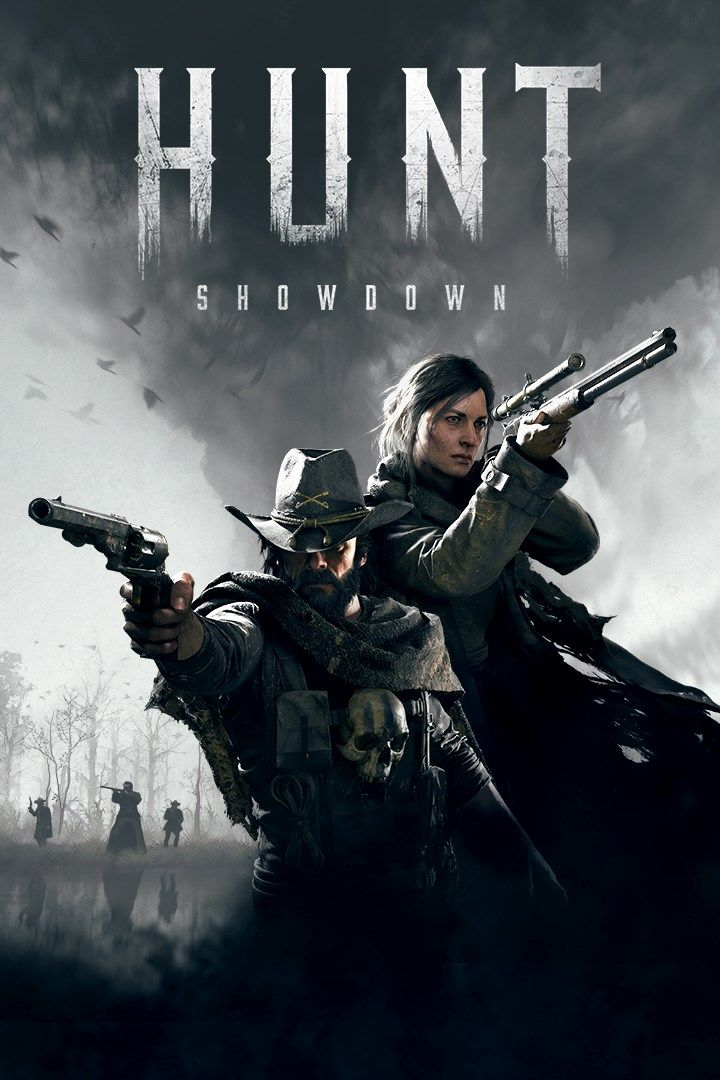 Hunt Showdown PC Game Box Cover Art
