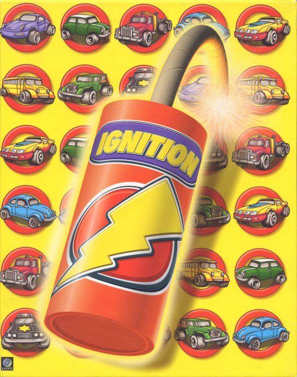 Ignition DOS Game Box Cover Art