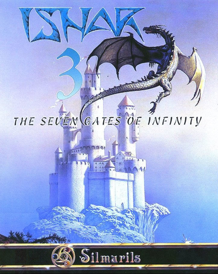 Ishar 3 The Seven Gates of Infinity DOS Game Box Cover Art