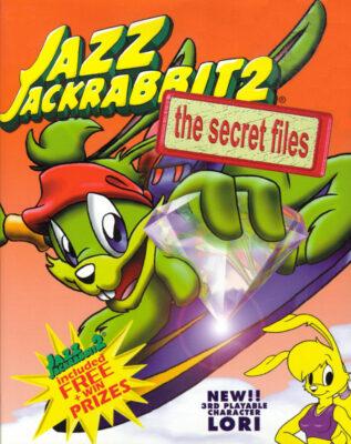 Jazz Jackrabbit 2 The Secret Files DOS Game Box Cover Art