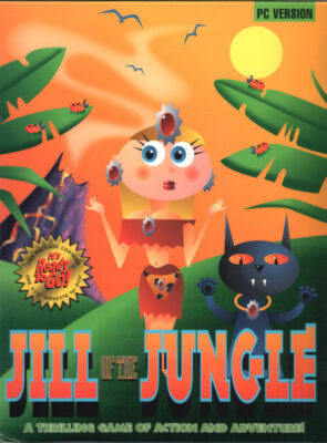 Jill of the Jungle DOS Game Box Cover Art