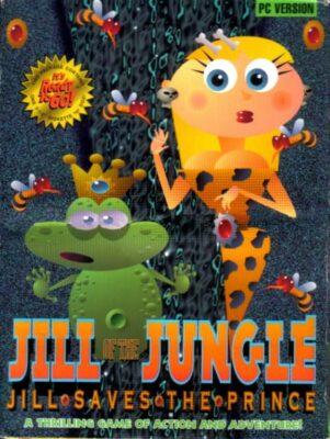 Jill of the Jungle Jill Saves the Prince DOS Game Box Cover Art