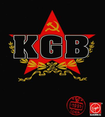 KGB Conspiracy DOS Game Cover