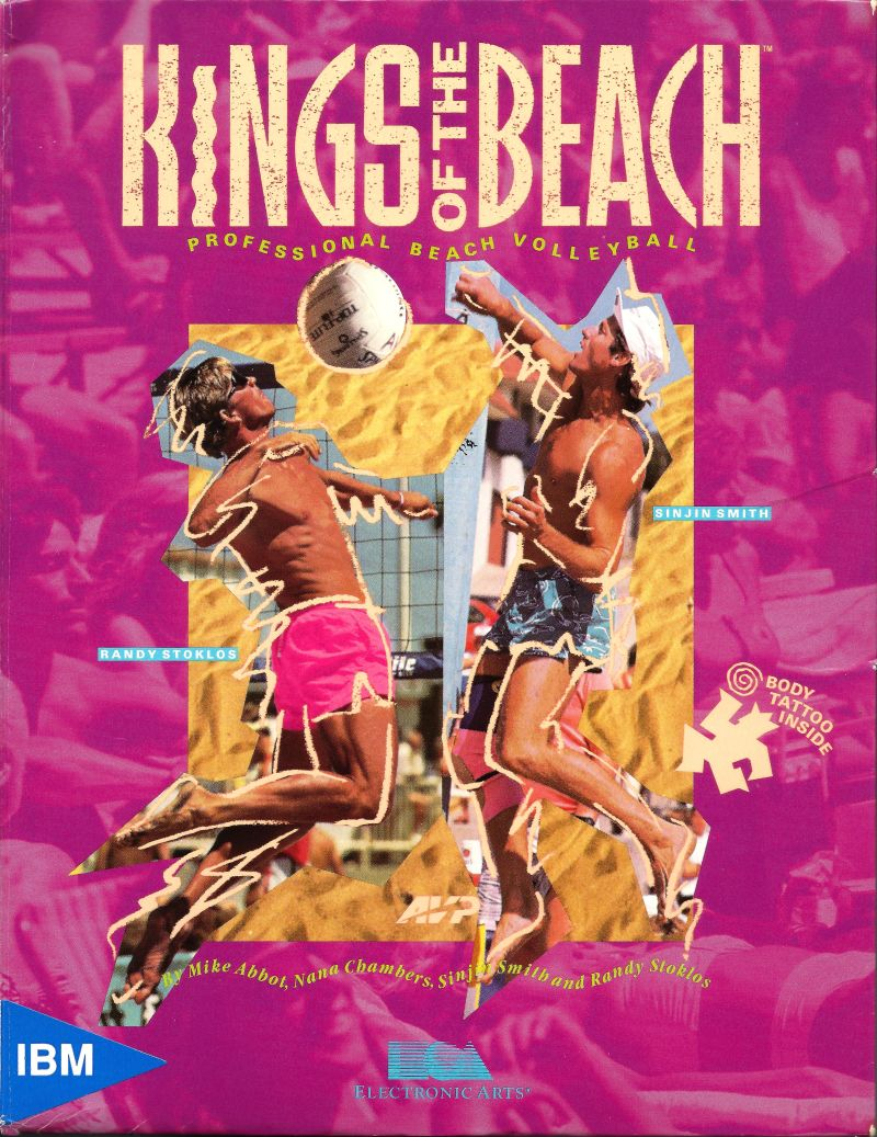 Kings of the Beach DOS Game Cover