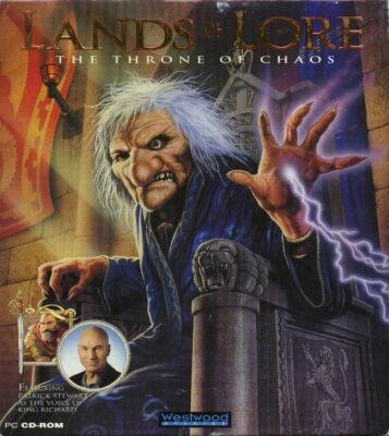 Lands of Lore The Throne of Chaos DOS Game Cover
