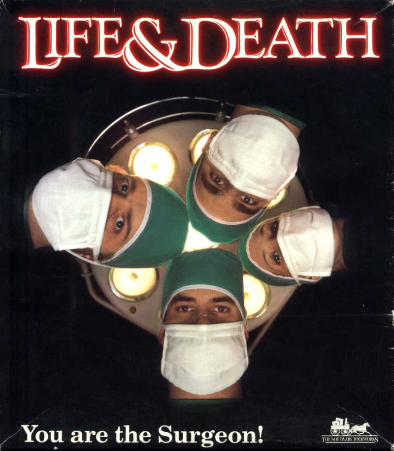 Life and Death DOS Game Cover