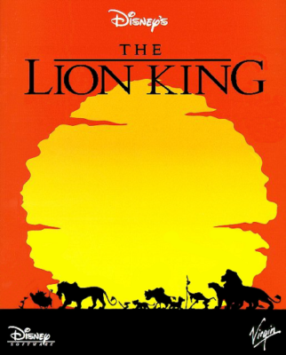 Lion King DOS Game Cover