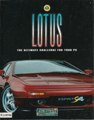Lotus The Ultimate Challenge DOS Game Cover