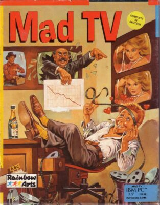 Mad TV DOS Game Cover