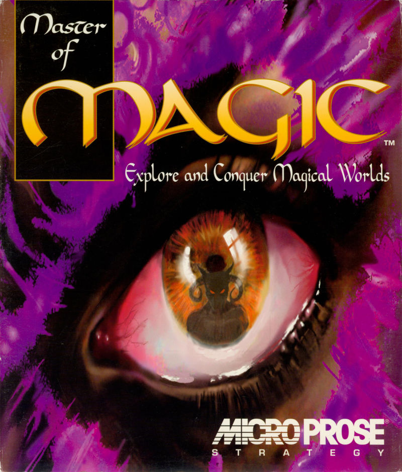 Master of Magic DOS Game Cover