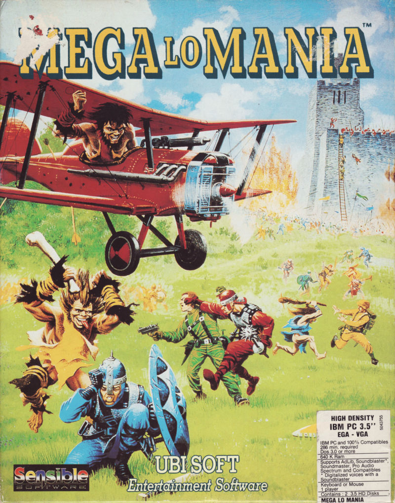 Mega lo Mania DOS Game Cover