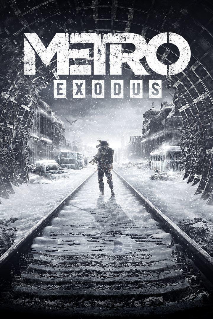 Metro Exodus PC Game Cover