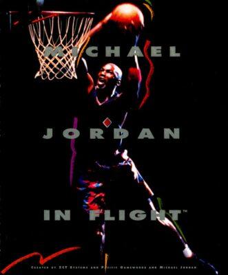 Michael Jordan in Flight DOS Game Cover
