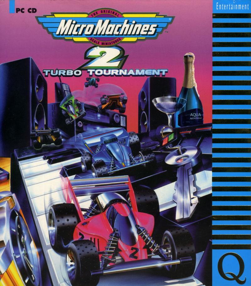 Micro Machines 2 Turbo Tournament DOS Game Cover