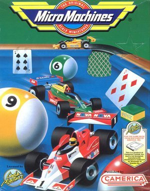 Micro Machines DOS Game Cover