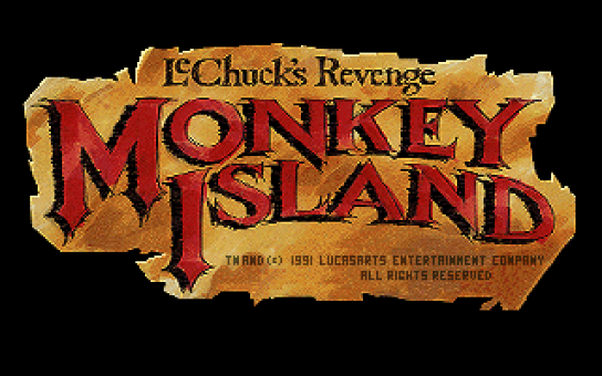 Monkey Island 2: LeChuck's Revenge old DOS game