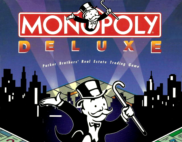 Monopoly Deluxe old DOS game