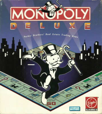 Monopoly Deluxe DOS Game Cover