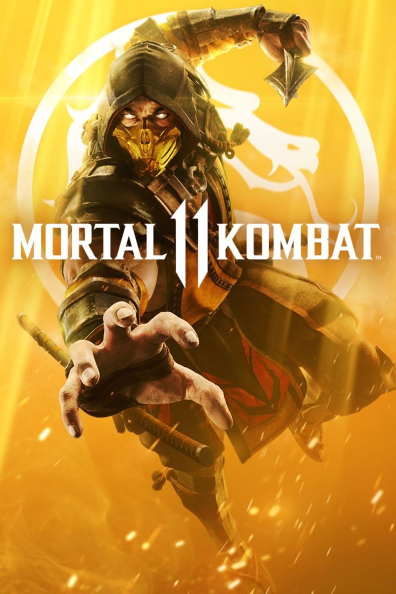 Mortal Kombat 11 PC Game Cover