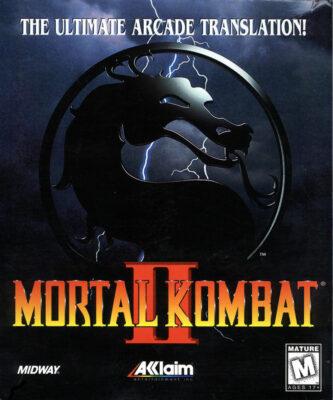 Mortal Kombat 2 DOS Game Cover