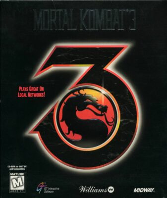 Mortal Kombat 3 DOS Game Cover