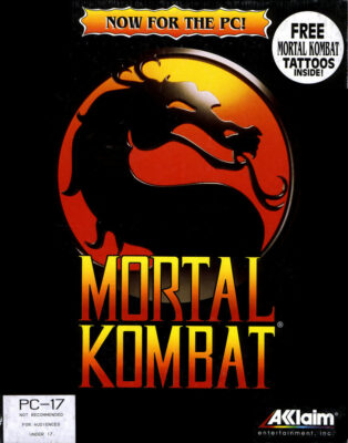 Mortal Kombat DOS Game Cover