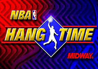 NBA Hang Time old DOS game