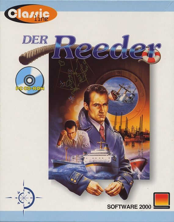 Ocean Trader DOS Game Cover