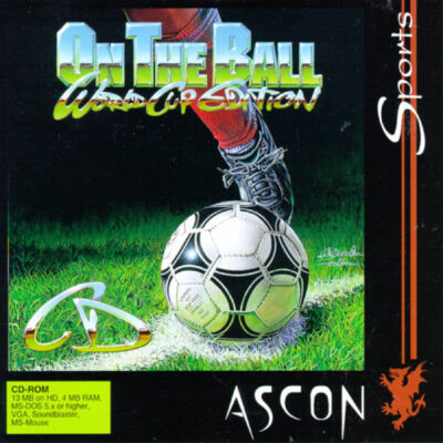On the Ball World Cup Edition DOS Game Cover