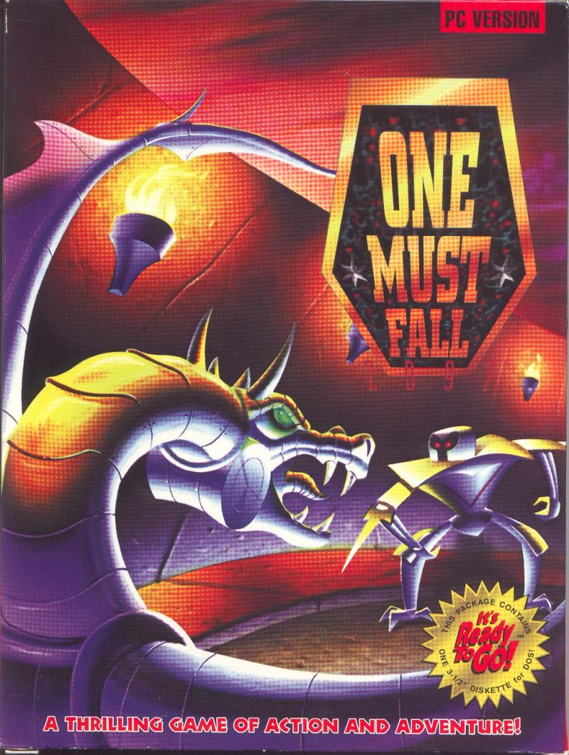 One Must Fall 2097 DOS Game Cover